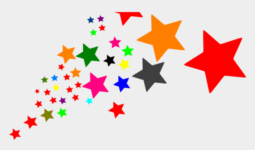 stars clipart png, Cartoons - Stars Clipart , Png Download - Colorful Stars Clipart