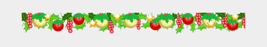 christmas holly garland clipart, Cartoons - Garland Christmas Christmas Baubles Holly - Festoon Png