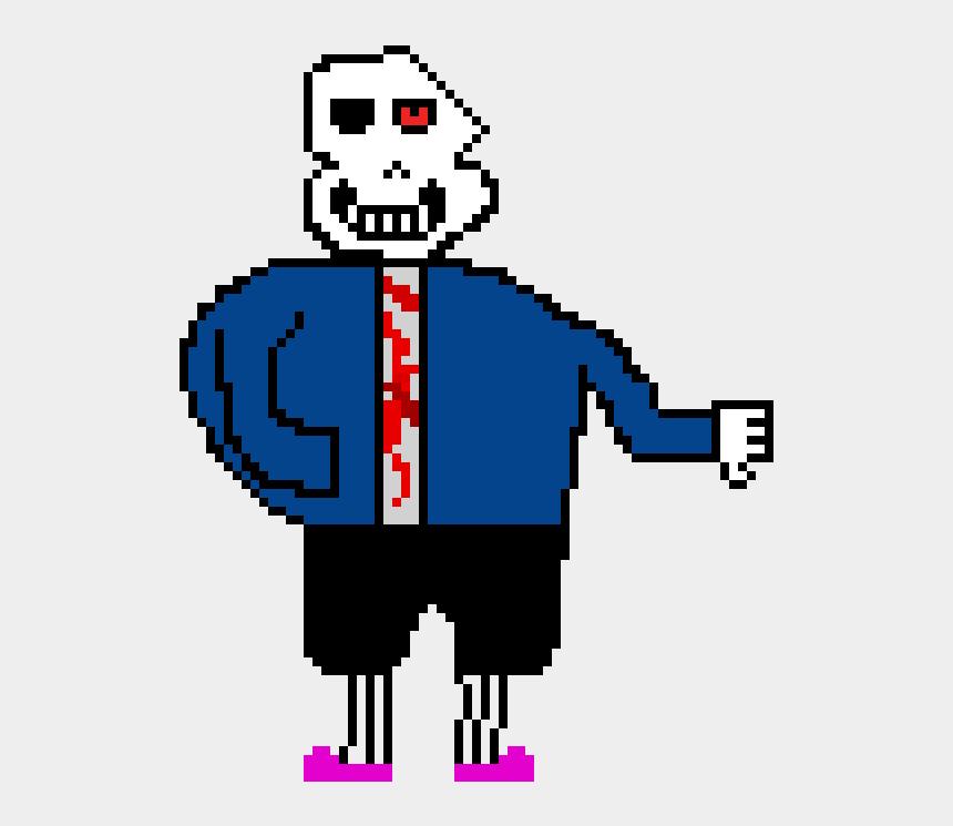 Horrortale Sans Sprite - Icon, Cliparts & Cartoons - Jing fm