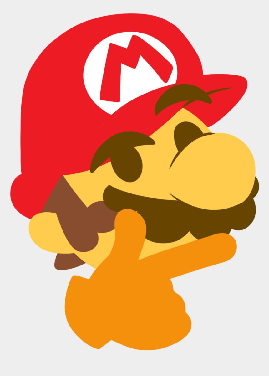 thunderbird clipart, Cartoons - Mario Clip Art - Discord Mario Emoji