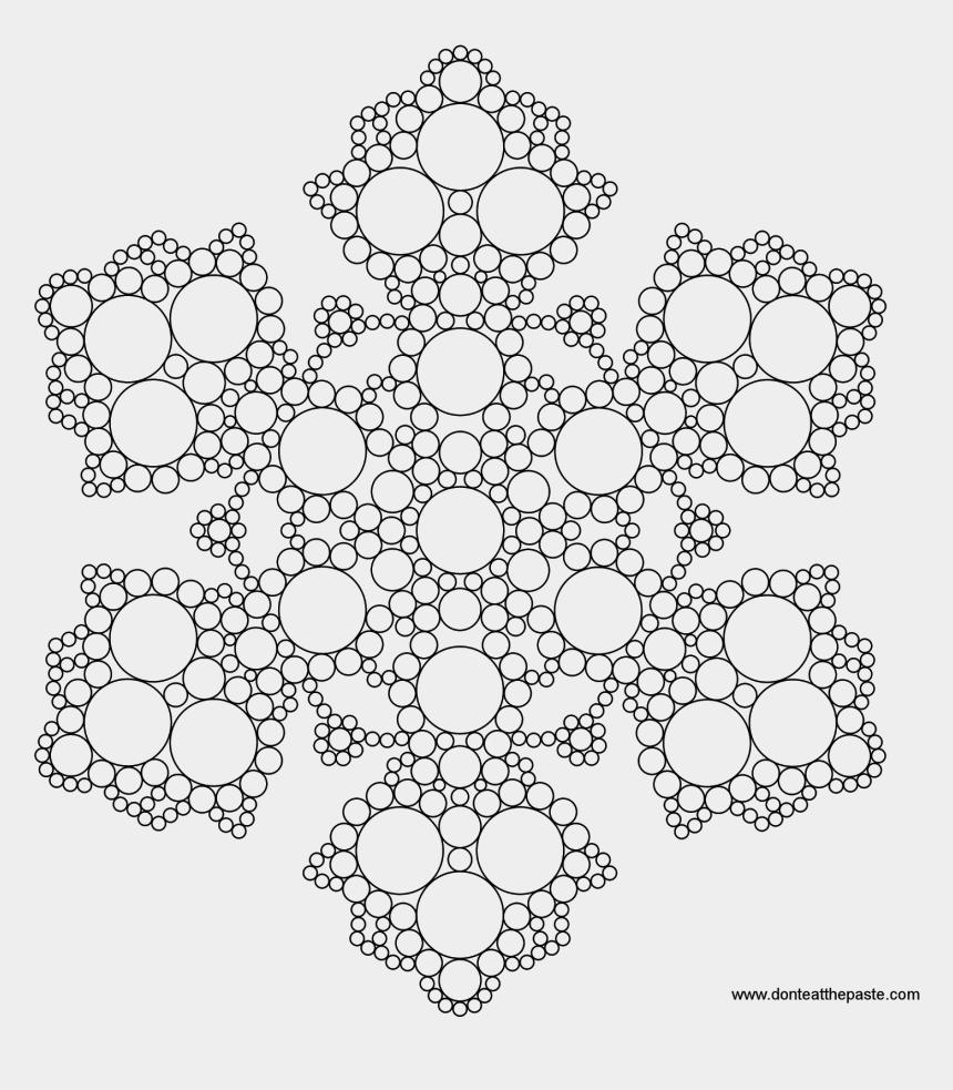 mandala clipart black and white, Cartoons - Free Printable Mandala Coloring Pages - Snowflake Mandala Coloring Pages