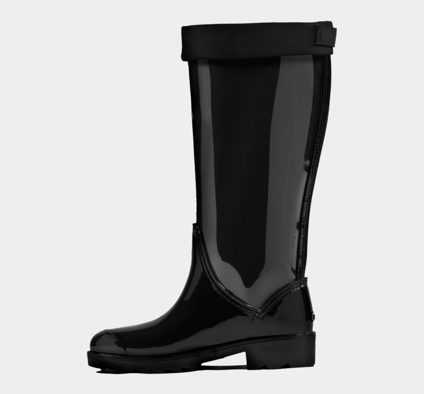 rain boots clipart black and white, Cartoons - Black Boot Download Png Image - Rain Boot