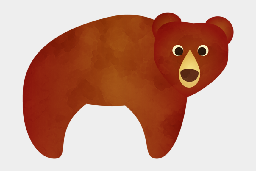 woodland animal clipart, Cartoons - Bear Cute Animal Illustration, Woodland Critters, Forest - Teddy Bear