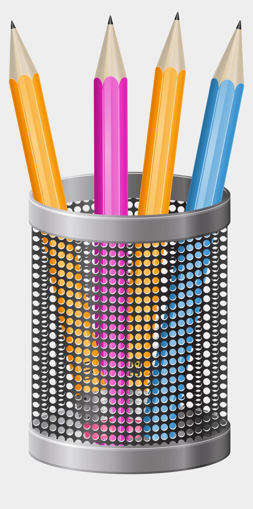 pen clipart png, Cartoons - Cup Transparent Pens - Transparent Pencil Cup