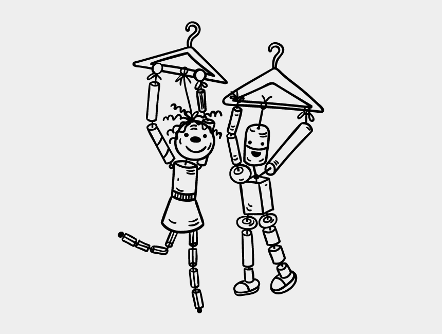 laundry clipart black and white, Cartoons - Clothes Hanger Drawing At Getdrawings - Clothing