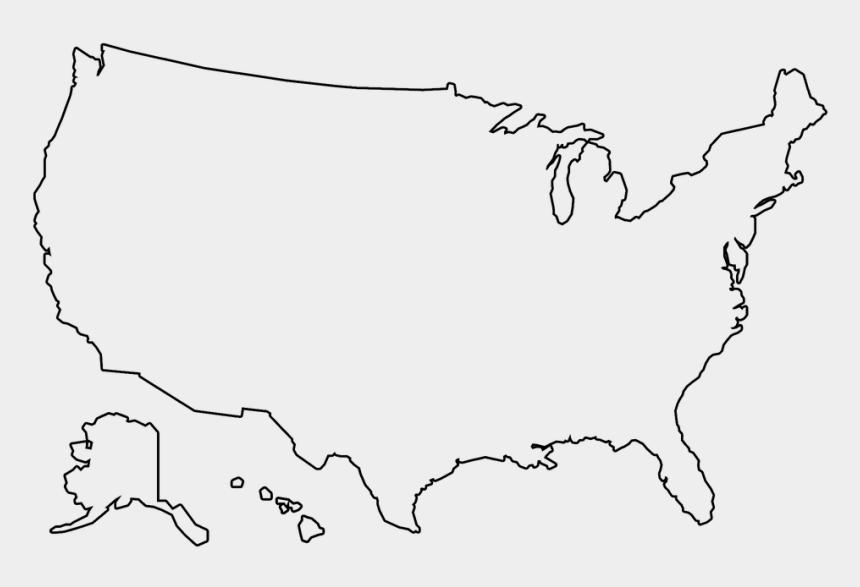 Free Illustration Us Map Outline Us Map America Free - Us ...