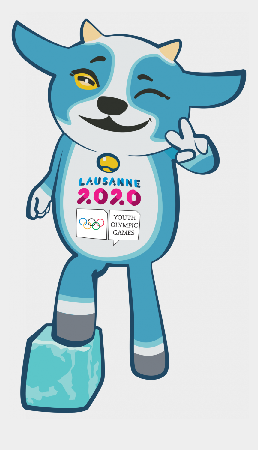 olympic clipart, Cartoons - Olympics Clipart Winter Thailand - Youth Olympic Games Mascot
