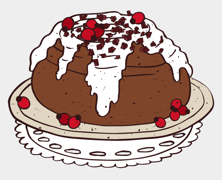 delicious clipart, Cartoons - Chocolate Cake Clipart Delicious Cake - Cinnamon Roll