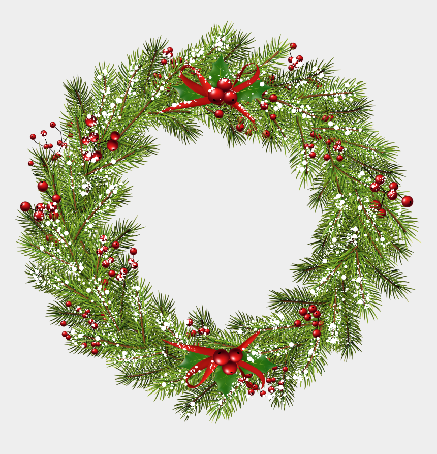 holiday wreath clipart, Cartoons - Christmas Wreath Png Clip Art Image Christmas Wreath - Christmas Wreath Png Free