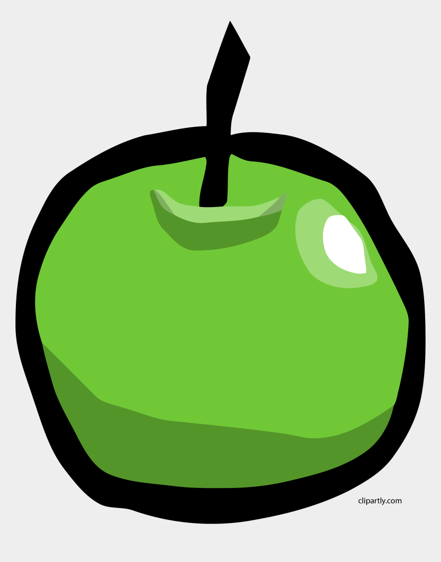 delicious clipart, Cartoons - Apple Fruit Delicious Tasty Food Green Yummy - Cartoon Apple