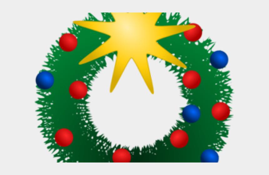 holiday wreath clipart, Cartoons - Christmas Clipart Wreath - Christmas Clip Art Holiday