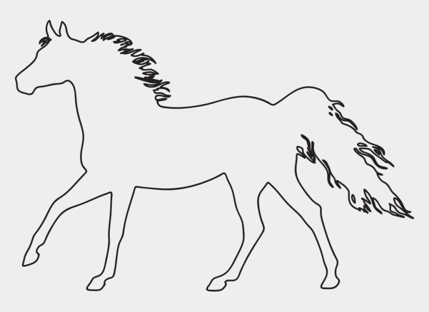 sea horse clipart, Cartoons - Sea Horse Outline 9, Buy Clip Art - De Caballos Para Calcar