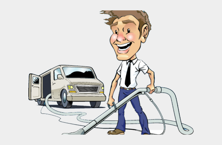 carpet cleaning clipart, Cartoons - Carpet Cleaning Illustration