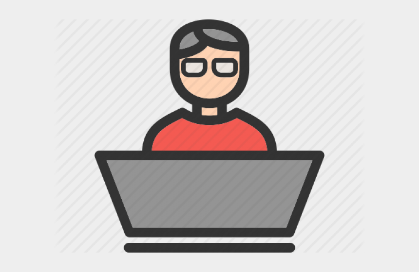 computer programmer clipart, Cartoons - Software Development Clipart Programmer - Software Developer Icon