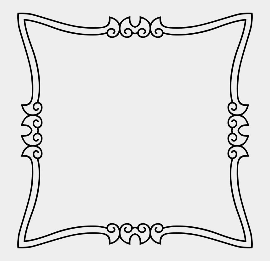 art deco clipart, Cartoons - Art Nouveau Deco Picture Frames Ornament Free Commercial - Frame Ornament Color Png