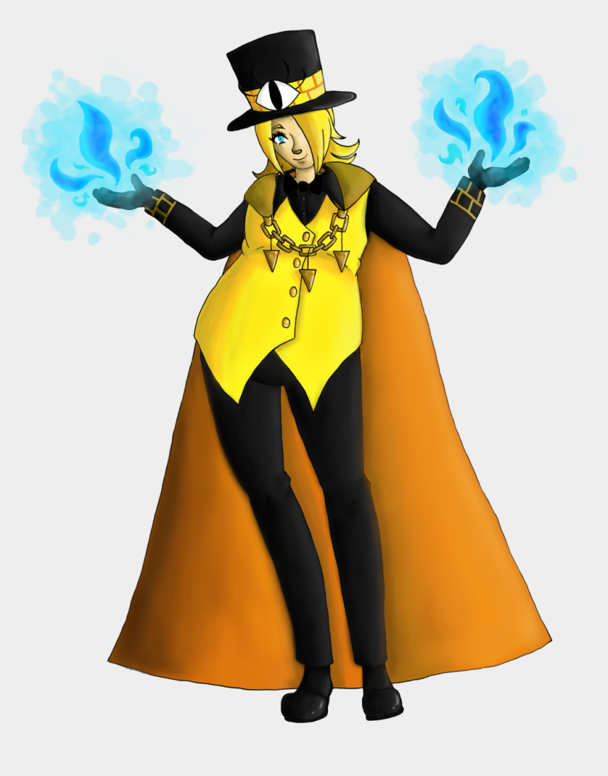 halloween costumes clipart, Cartoons - Bill Cipher No Background By Cutting The Wires - Human Bill Cipher