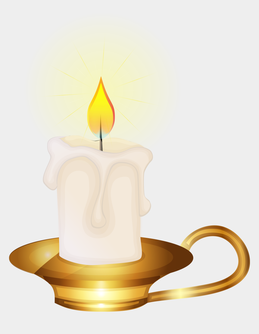 candlelight clipart, Cartoons - Transparent Candles Vintage Candle - Clip Art Transparent Background Candle