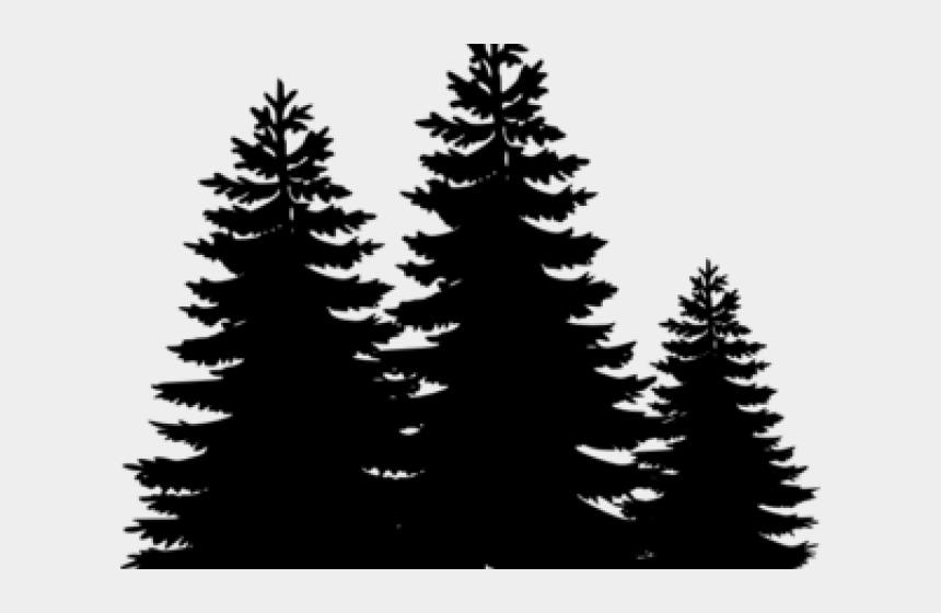 redwood tree clipart, Cartoons - Black Clip Art Trees