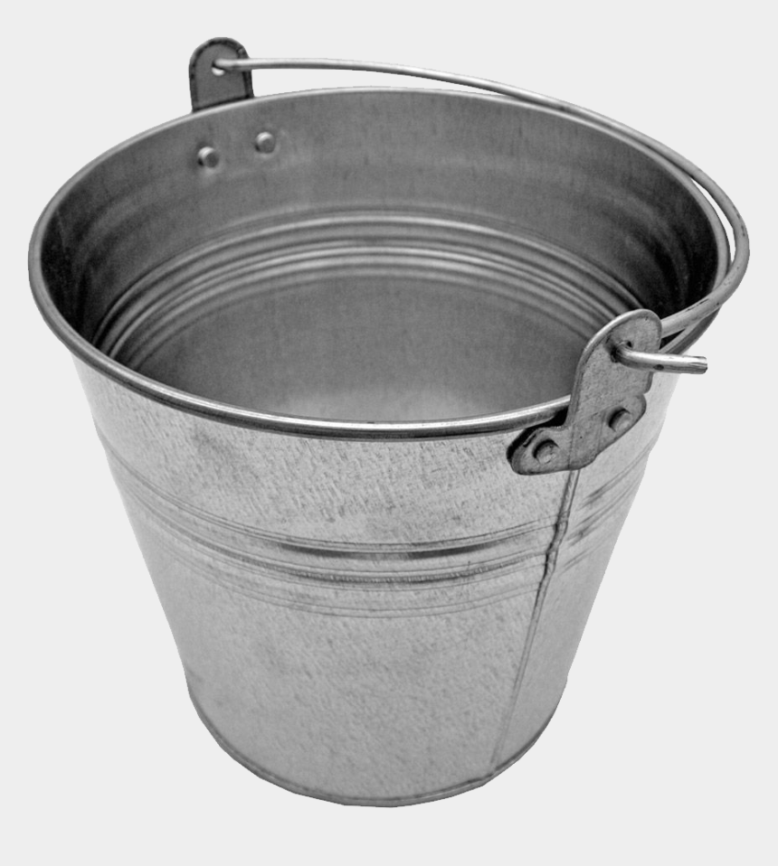 water bucket clipart, Cartoons - Metal Classic Bucket - Bucket With No Background