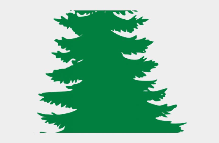 redwood tree clipart, Cartoons - Pine Tree Clipart Balsam Fir - Black Clip Art Trees