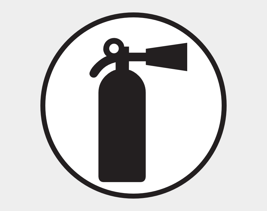 fire extinguishers clipart, Cartoons - Fire Distinguisher In Circle Clip Art - Fire Extinguisher Icon Circle