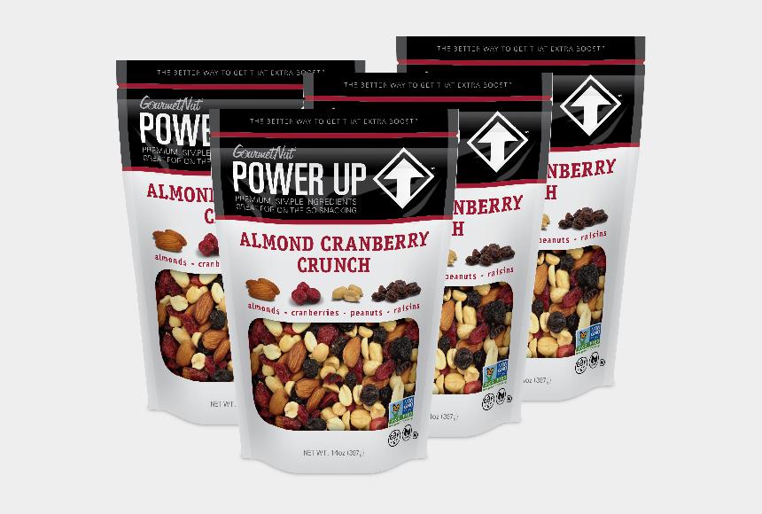 raisins clipart, Cartoons - 14oz Almond Cran Crunch 4 Pack - Power Up Trail Mix
