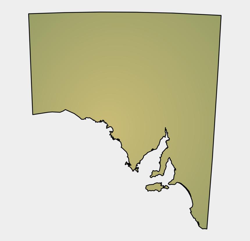south clipart, Cartoons - Australia Transparent South - South Australia Map Png