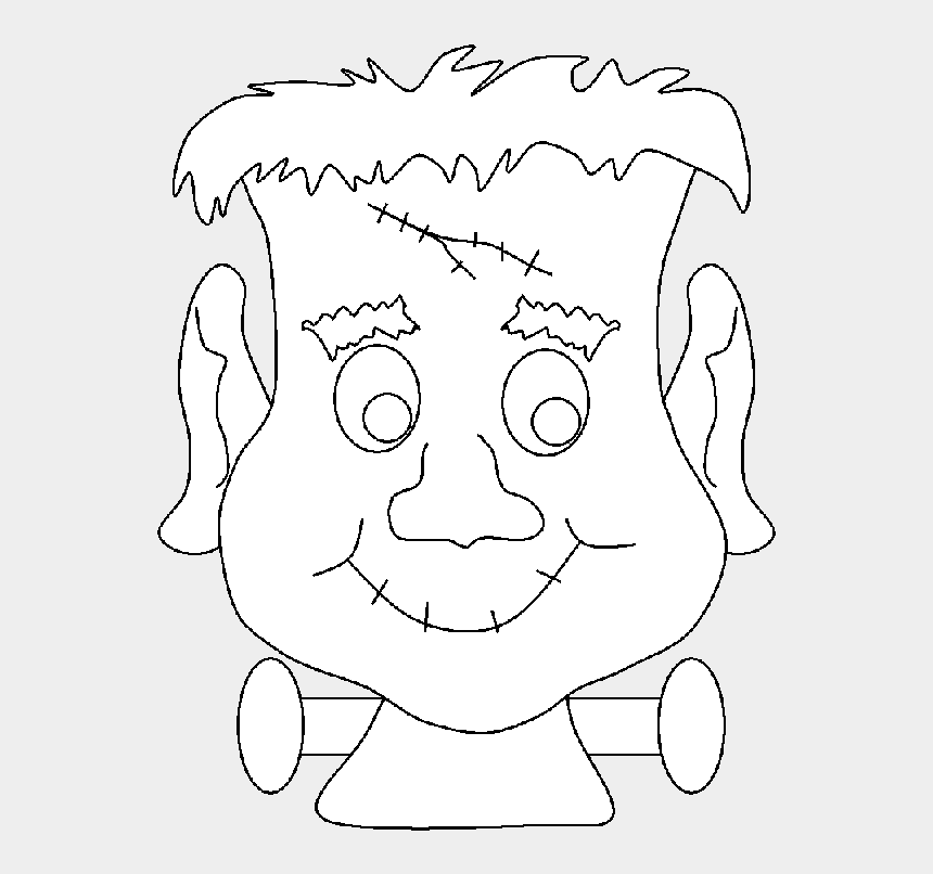 Halloween Monster Coloring Pages Halloween Frankenstein Coloring Sheets Cliparts Cartoons Jing Fm