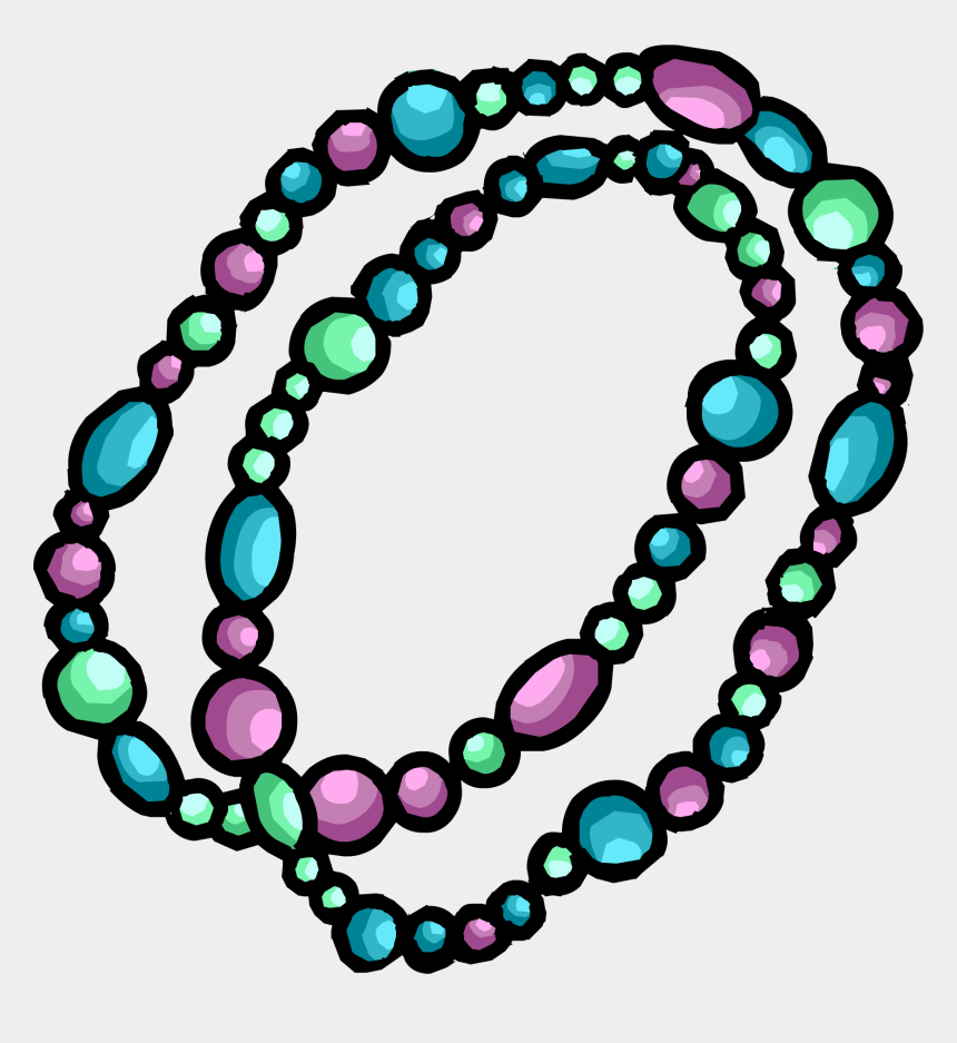 bead clipart, Cartoons - Necklace Clipart Club Penguin - Bead Necklace Clipart Png
