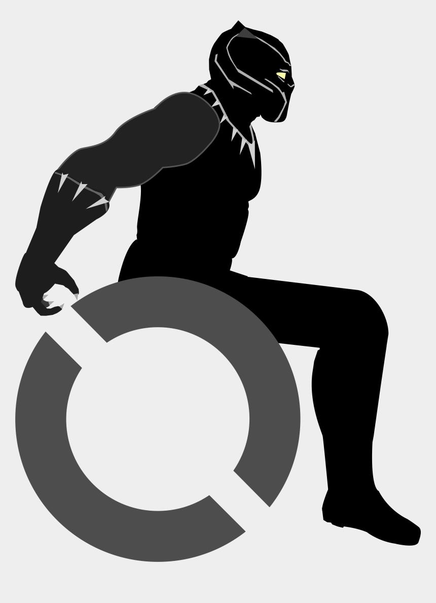 panther head clipart, Cartoons - Black Panther Paw Dog Clip Art