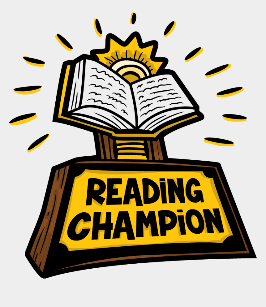 book club clipart, Cartoons - For Many Years Now, Wolfner Library Has Provided A - Reading Champion