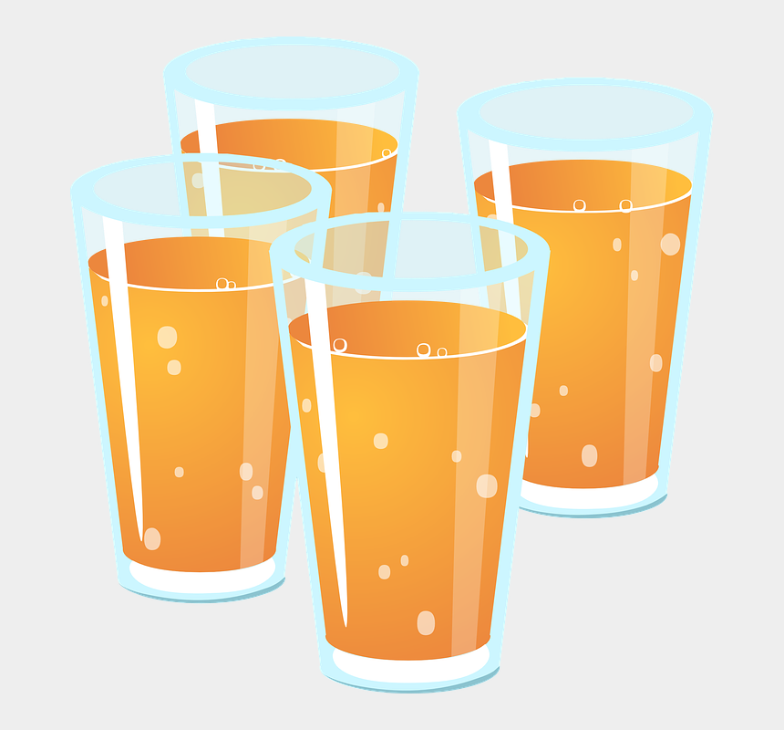 booze clipart, Cartoons - Drinks, Beverages, Brown, Glasses - Glasses Of Juice Clipart