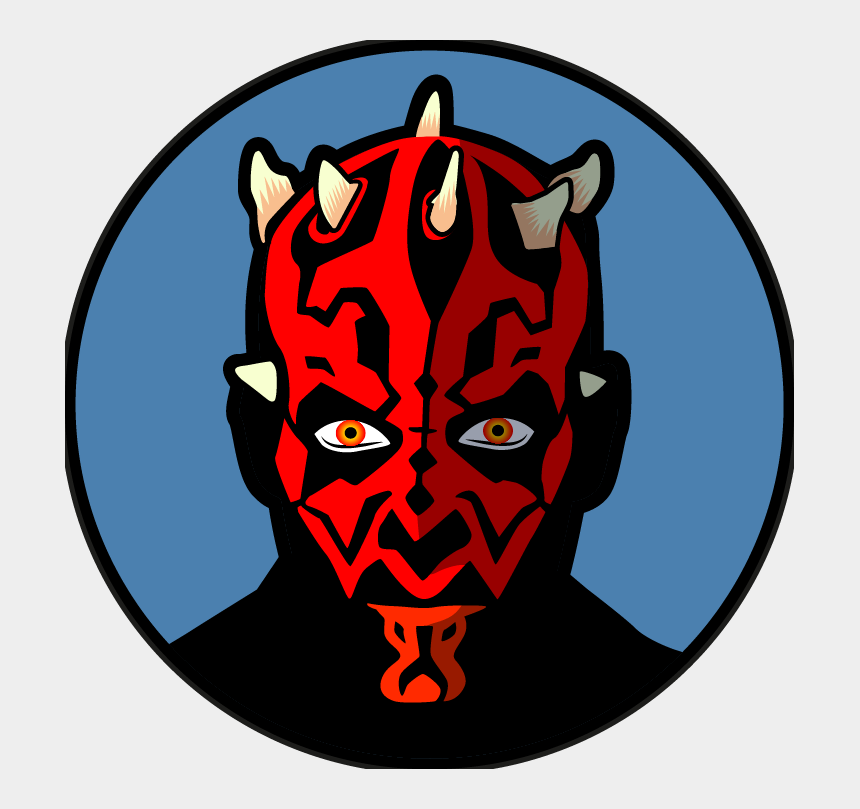 turn and talk clipart, Cartoons - He Can Cope With Extreme Turn And Heavy Pace On Any - Star Wars Darth Maul Minimalist