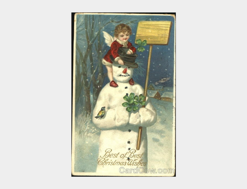 country snowman clipart, Cartoons - Old Time Snowman Vintage - Vintage Snowman