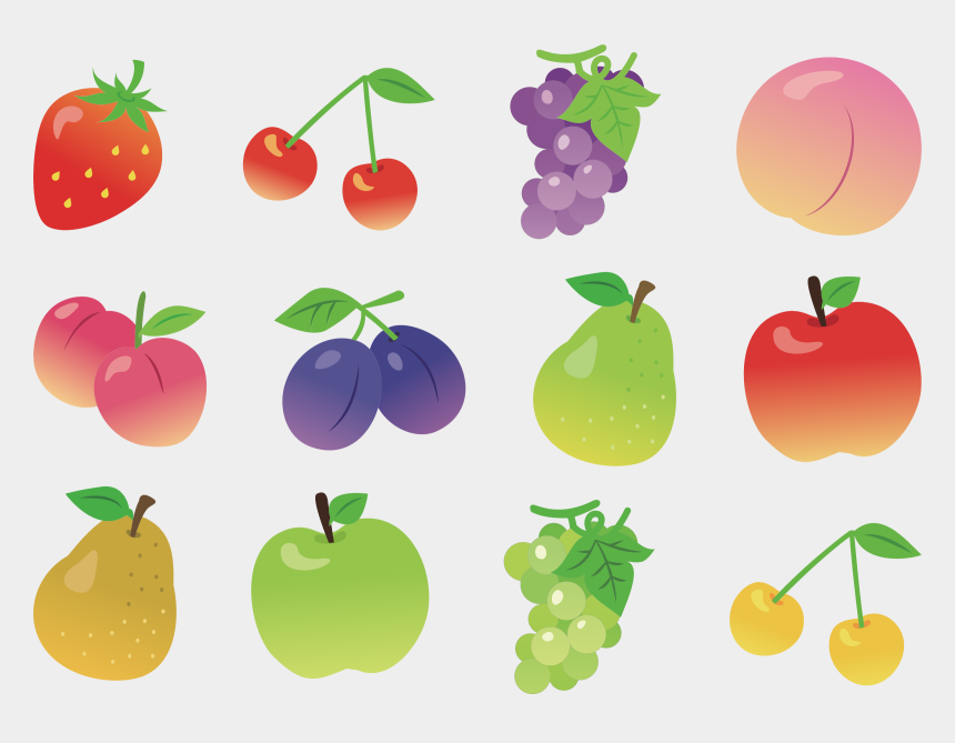 cherries clipart, Cartoons - Apple Vegetarian Cuisine Fruit Cherry Orange - Fruits Collection