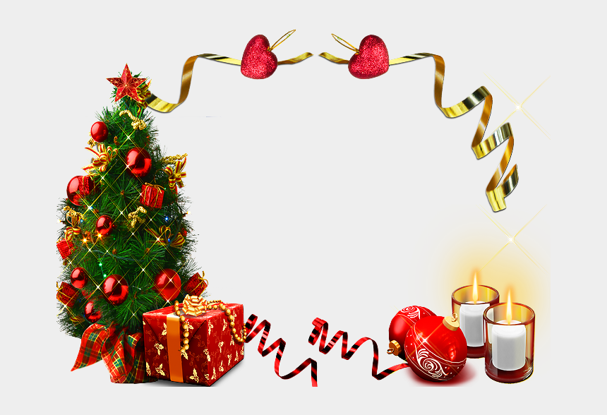 christmas frames clipart, Cartoons - Cadres De Noel,png,frames - Wishes Advance Happy New Year