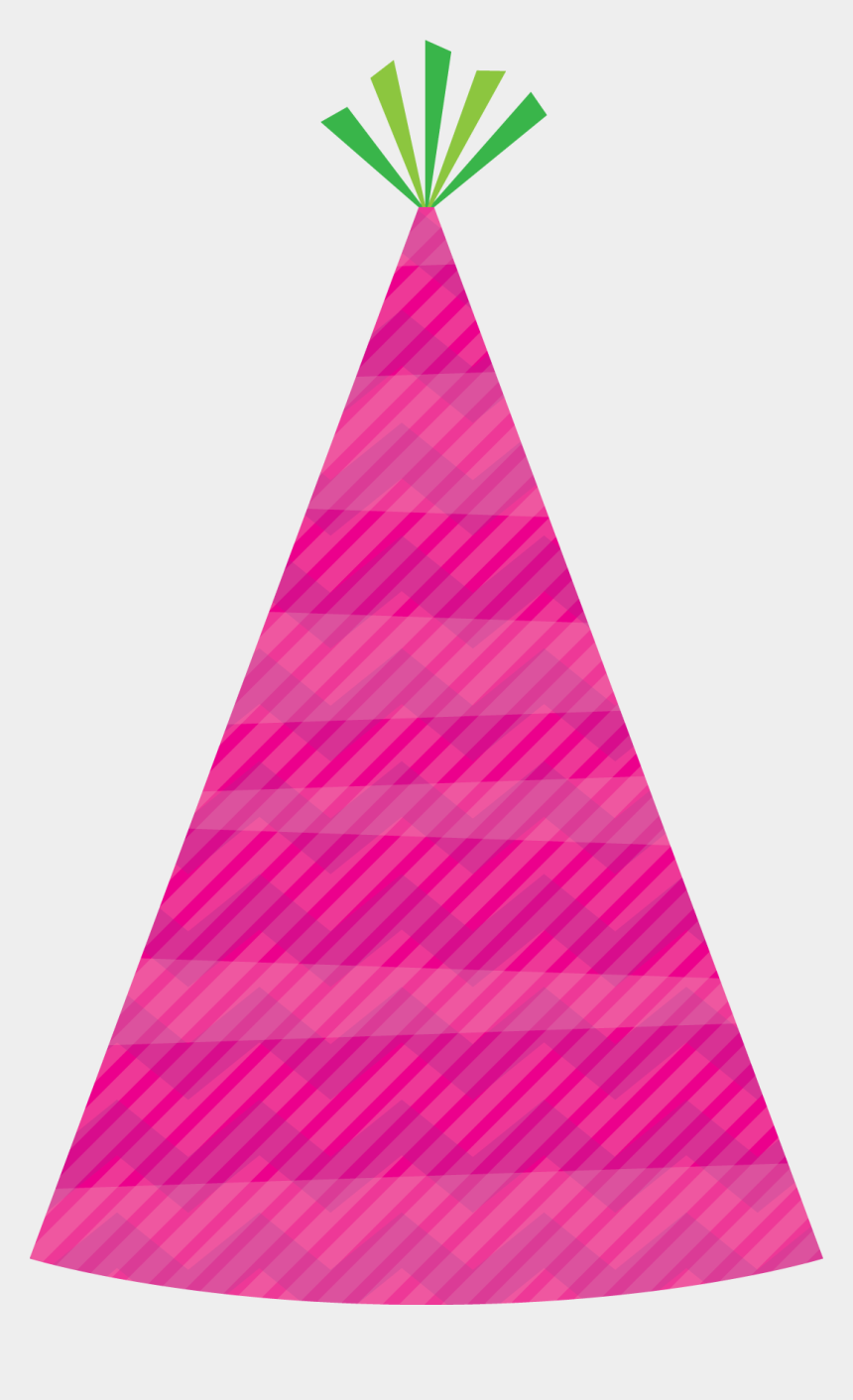 party hats clipart, Cartoons - Birthday Hat Clipart Png Image - Birthday Hat Png Pink