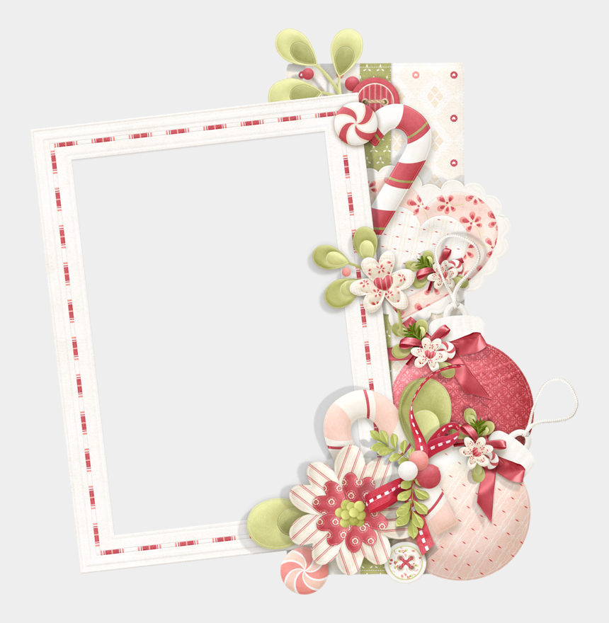 christmas frames clipart, Cartoons - Boorders And Frames Of The Lovely Christmas Clip Art - Christmas Flowers Photo Frame