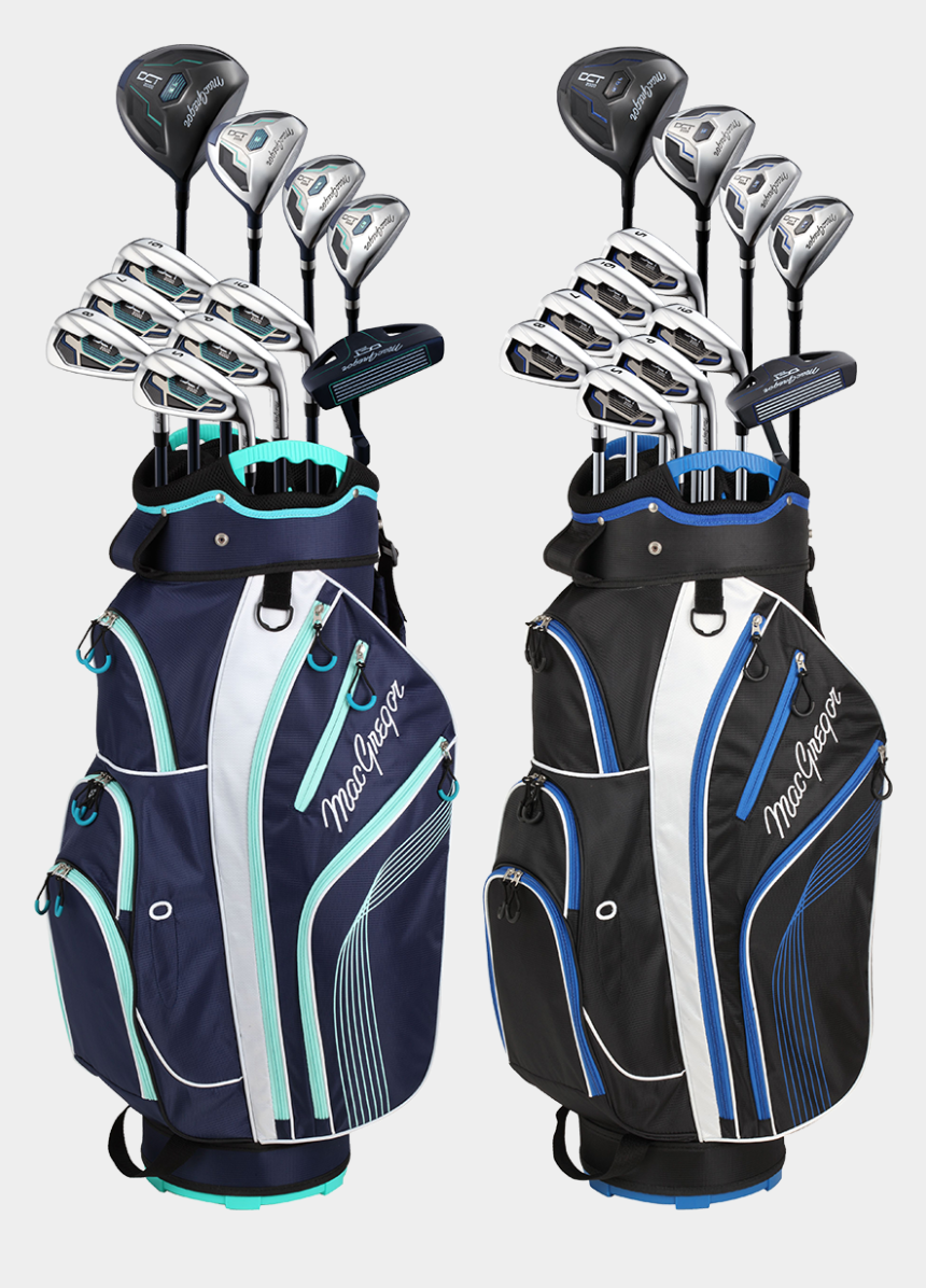 golf carts clipart, Cartoons - Golf Bags With Clubs