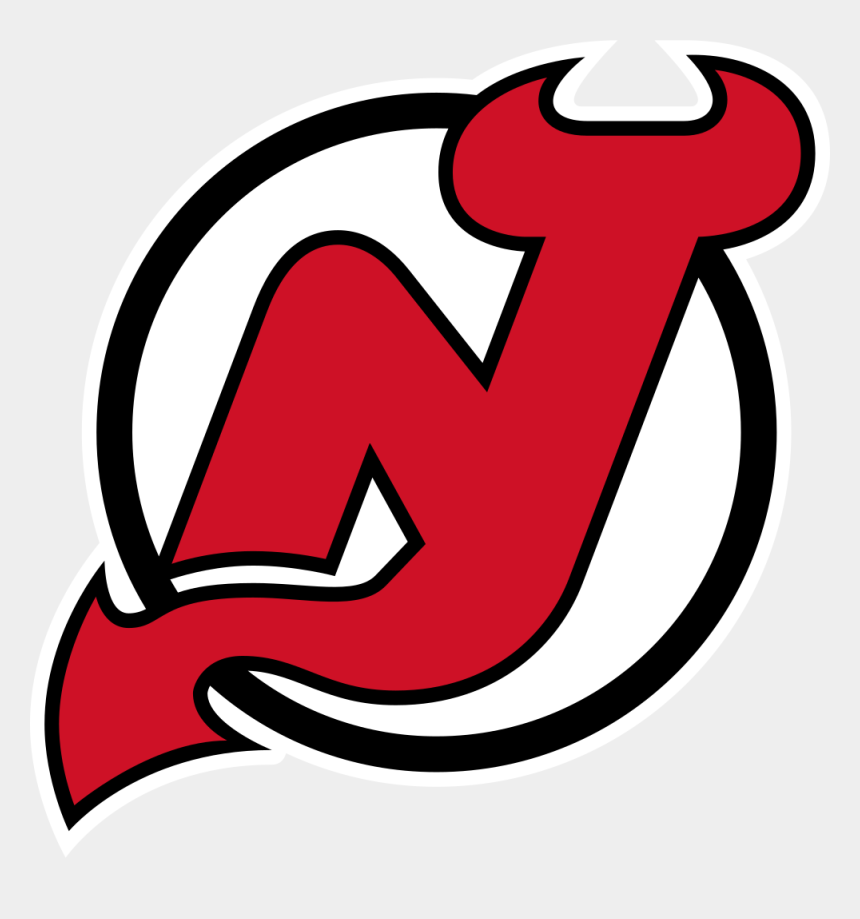game night clipart, Cartoons - February - New Jersey Devils Logo Png