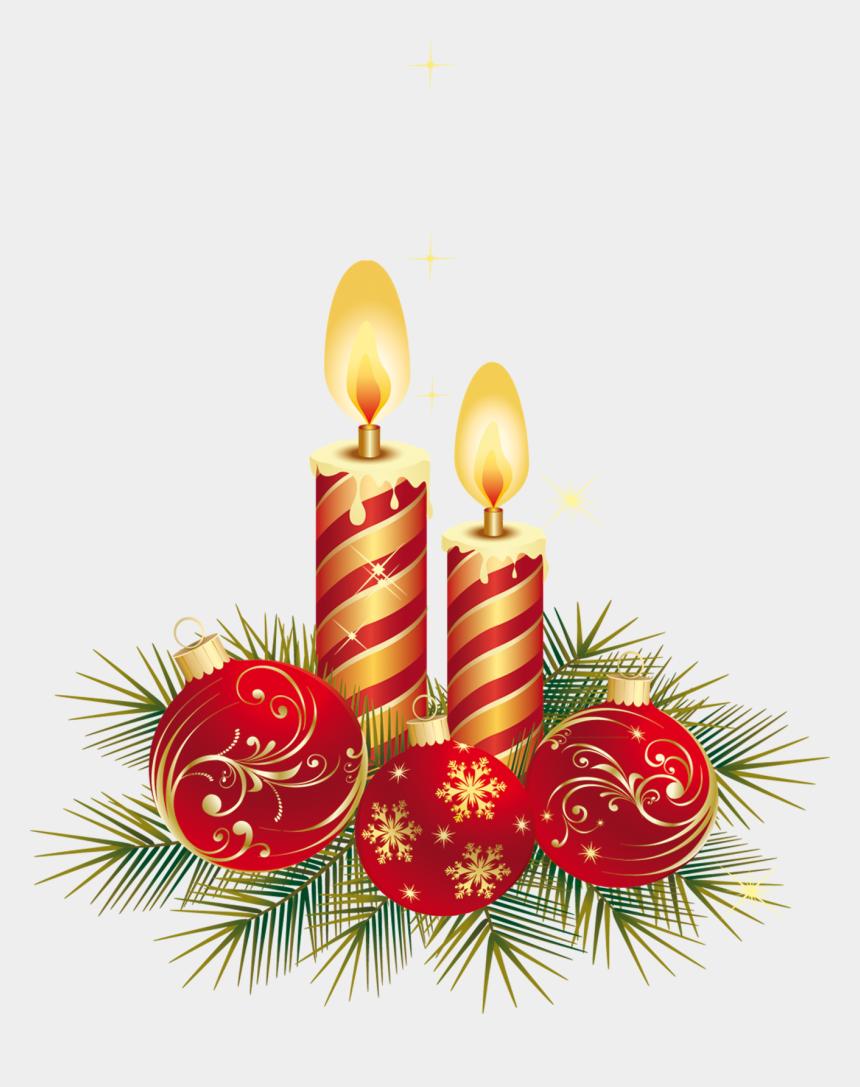 christmas candles clipart, Cartoons - Christmas Design Png