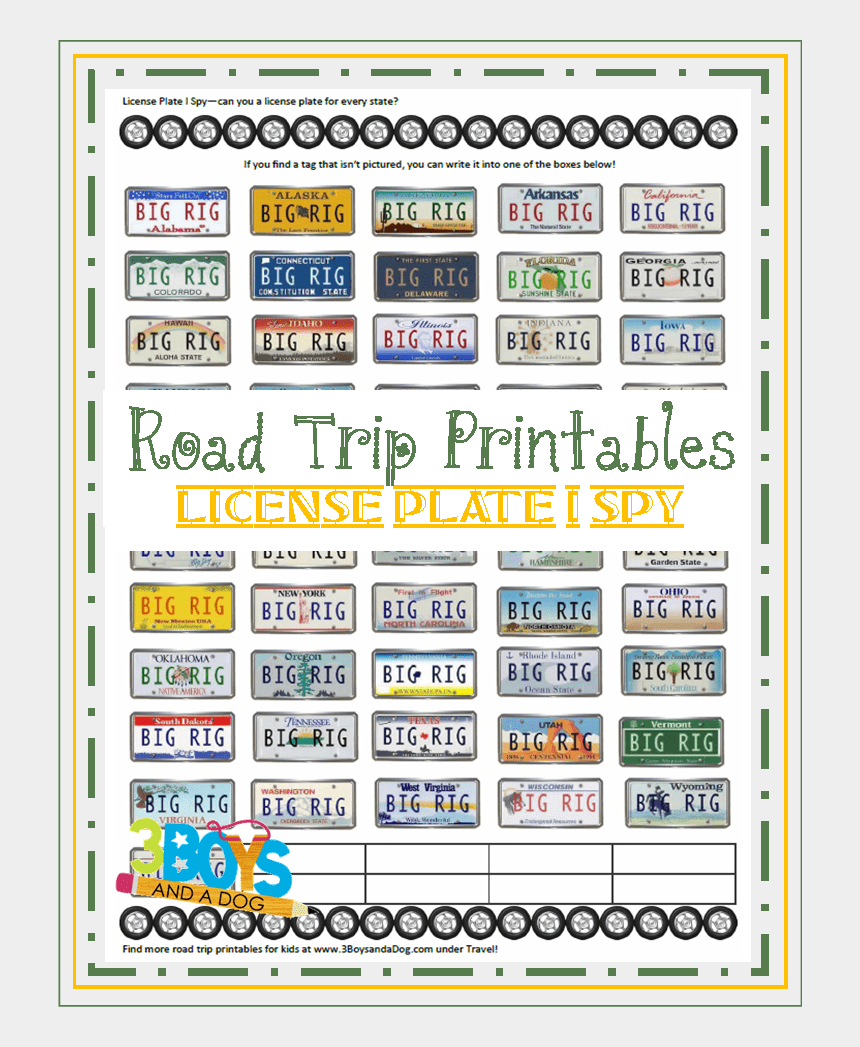 license plates clipart, Cartoons - License Plate Coloring Page - Play License Plate Game