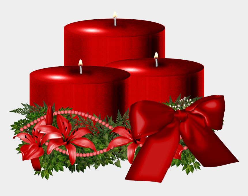 christmas candles clipart, Cartoons - Christmas Candles Images Png