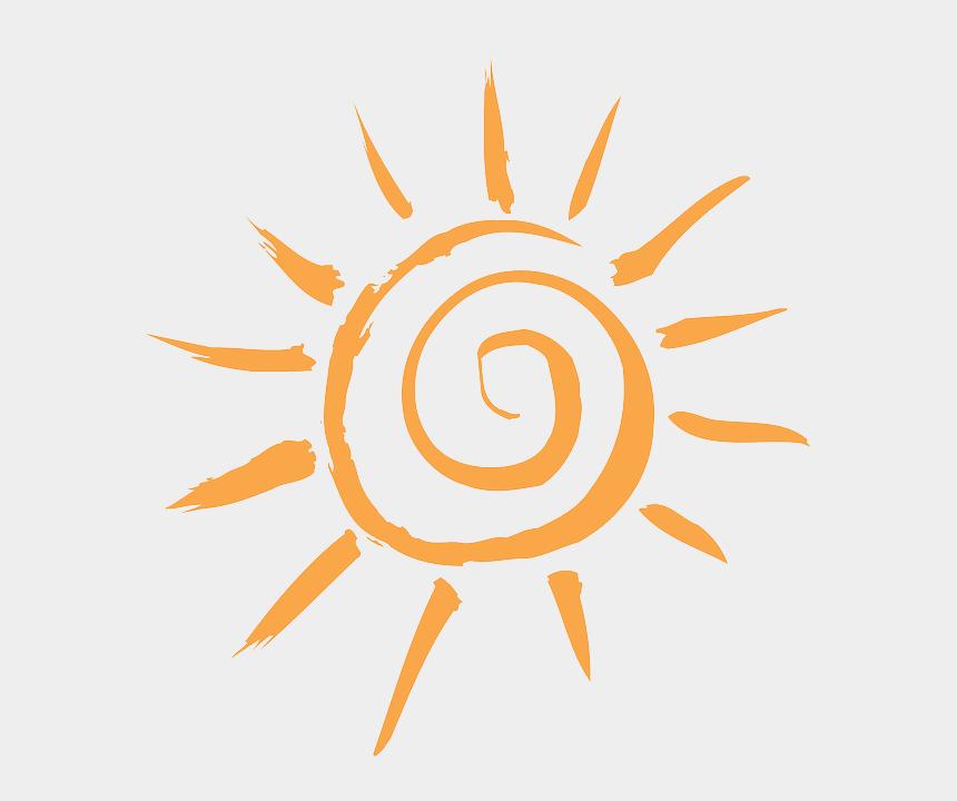 sol clipart, Cartoons - Simple, Sun, Cartoon, Orange, Free, Sunshine, Sol - Sun Free