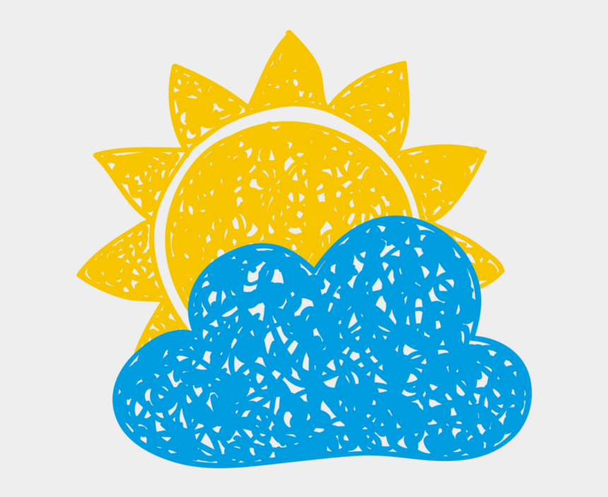 sol clipart, Cartoons - Sol, Nube Sun And Clouds, Windy Day, Science For Kids, - Weather And Climate Drawing