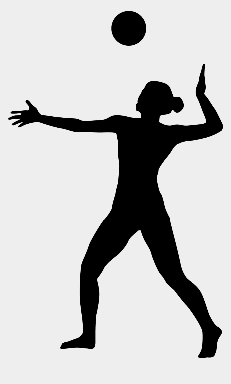volleyball player silhouette clipart, Cartoons - 3333 X 3333 - عکس پروفایل والیبالی دخترانه