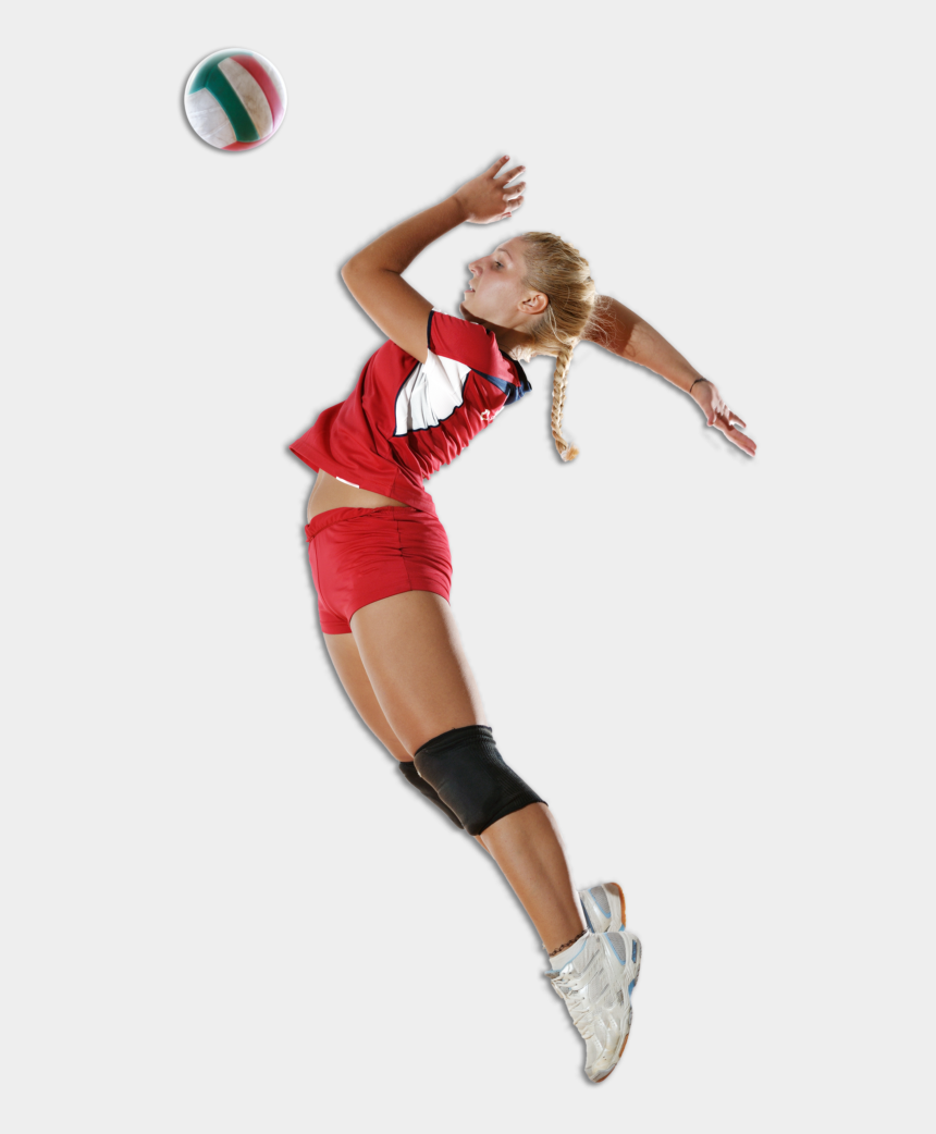 volleyball player silhouette clipart, Cartoons - Volleyball Player Png Pic - Volleyball