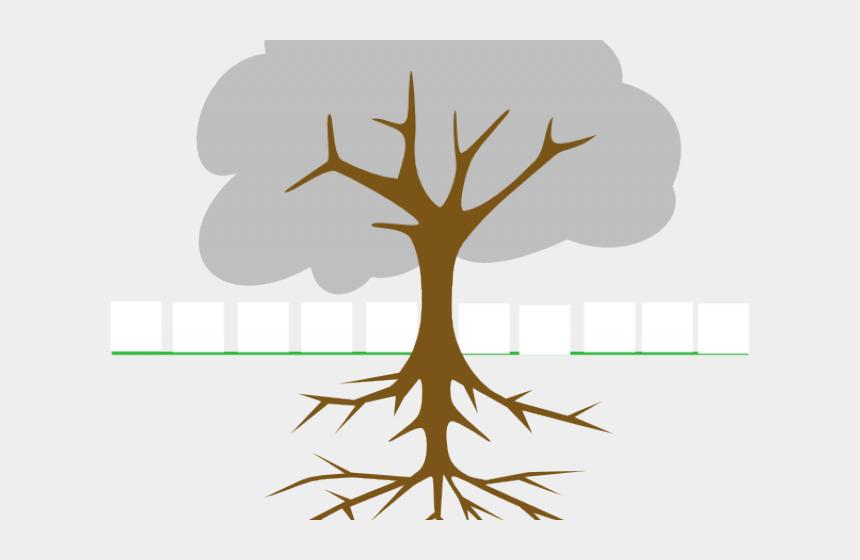 family tree with roots clipart, Cartoons - Cartoon Tree Roots - Tree Clip Art