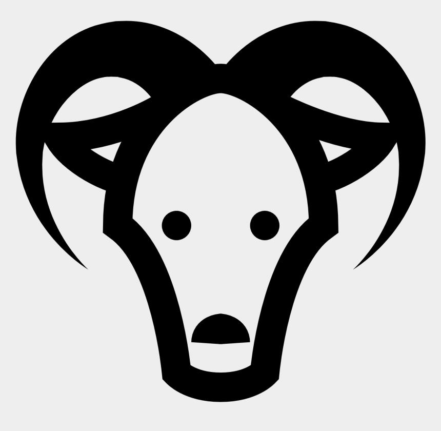 mr potato head clipart, Cartoons - Goats Head Clipart Icon - Goats Head Clipart Black And White