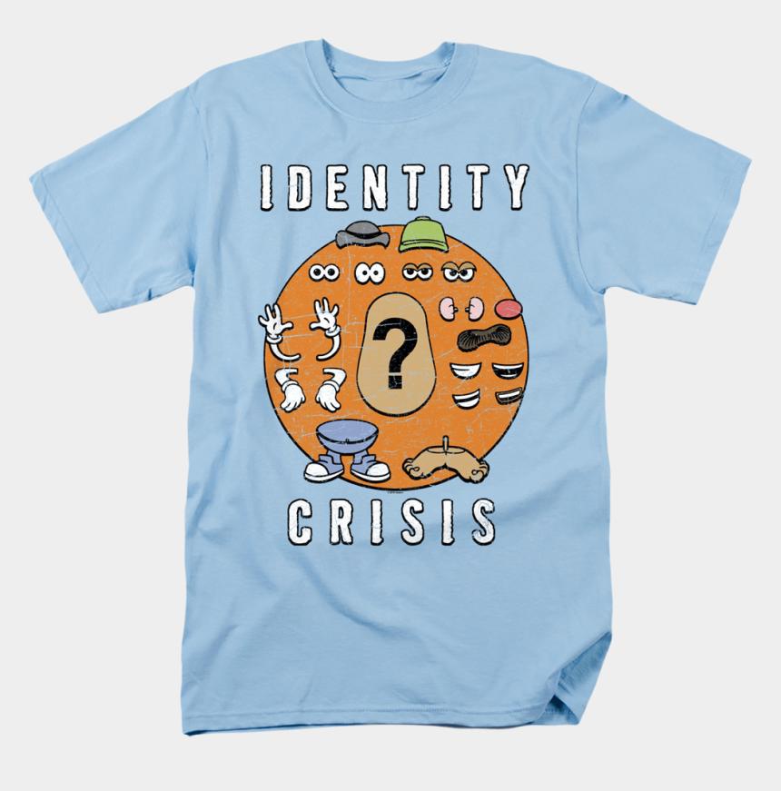 mr potato head clipart, Cartoons - Identity Crisis Mr Potato Head T Shirt - Zack Attack Shirt